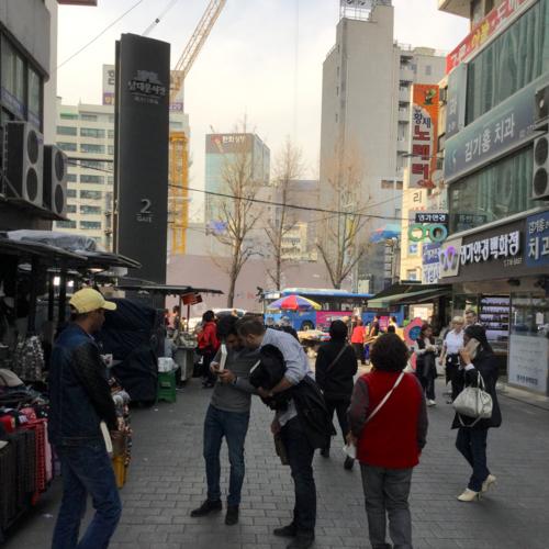 【動画】南大門市場の揚げたてドーナツ
