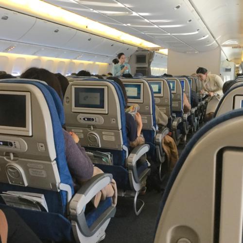 大韓航空〈KE〉特別機内食「フルーツミール」