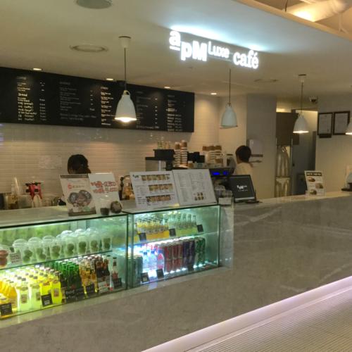東大門 apM Luxe cafe で休憩!