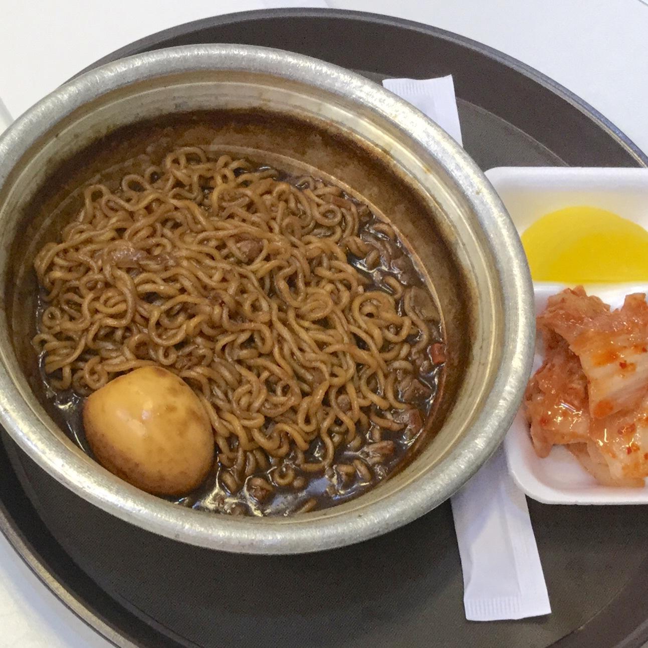 韓国 出前文化!