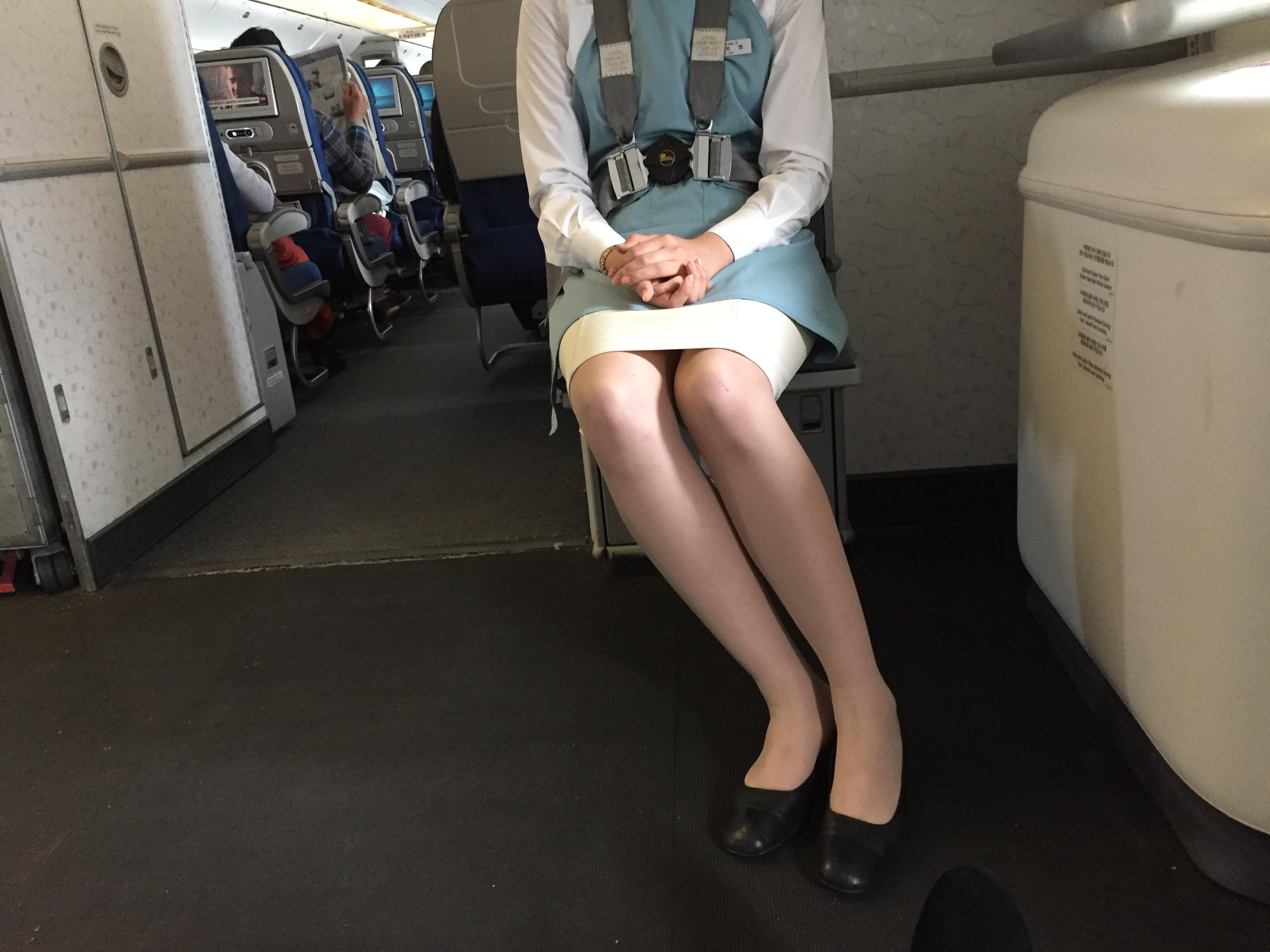 大韓航空の非常口席