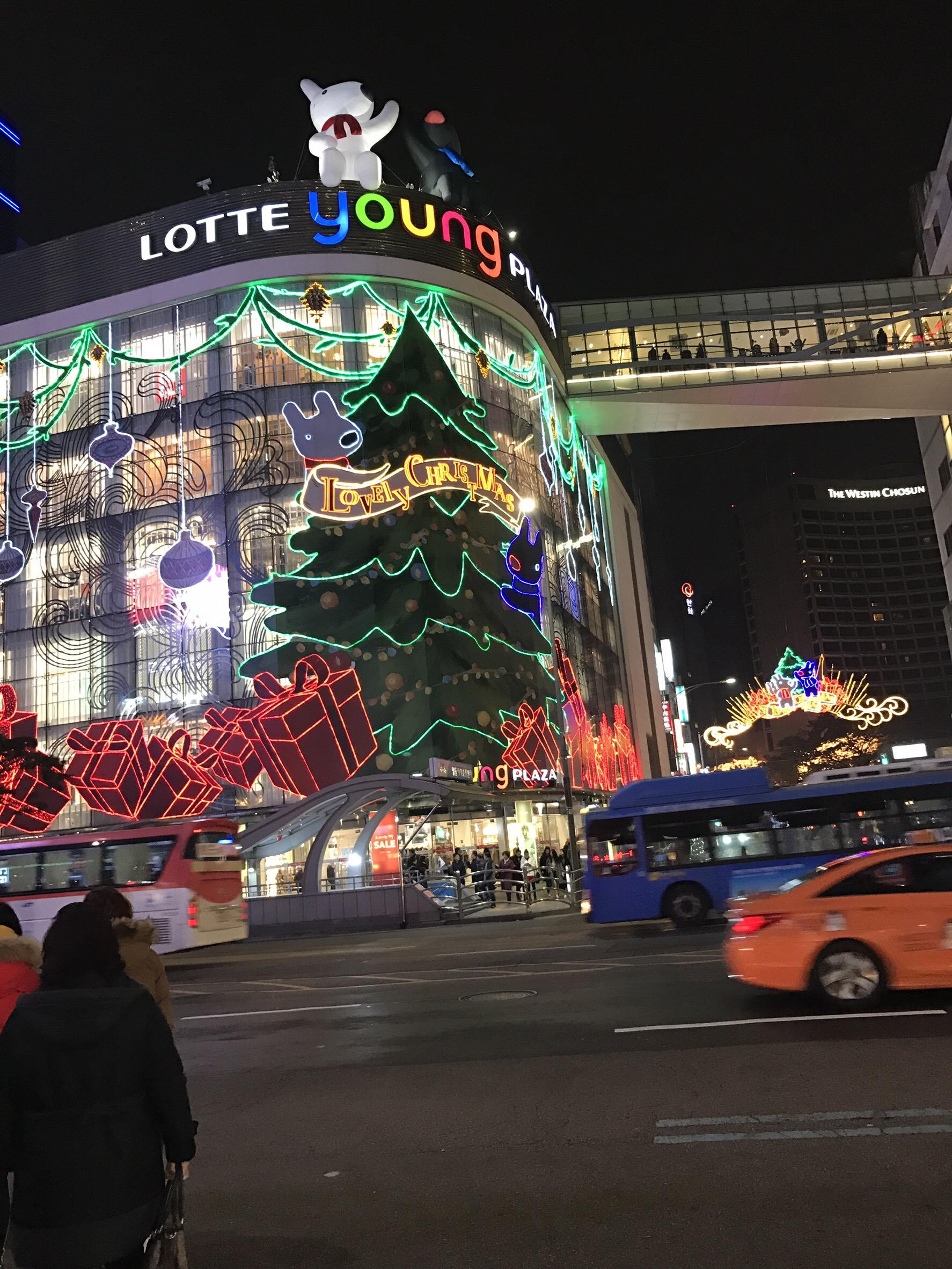 動画で見る!ソウルのクリスマスイルミネーション