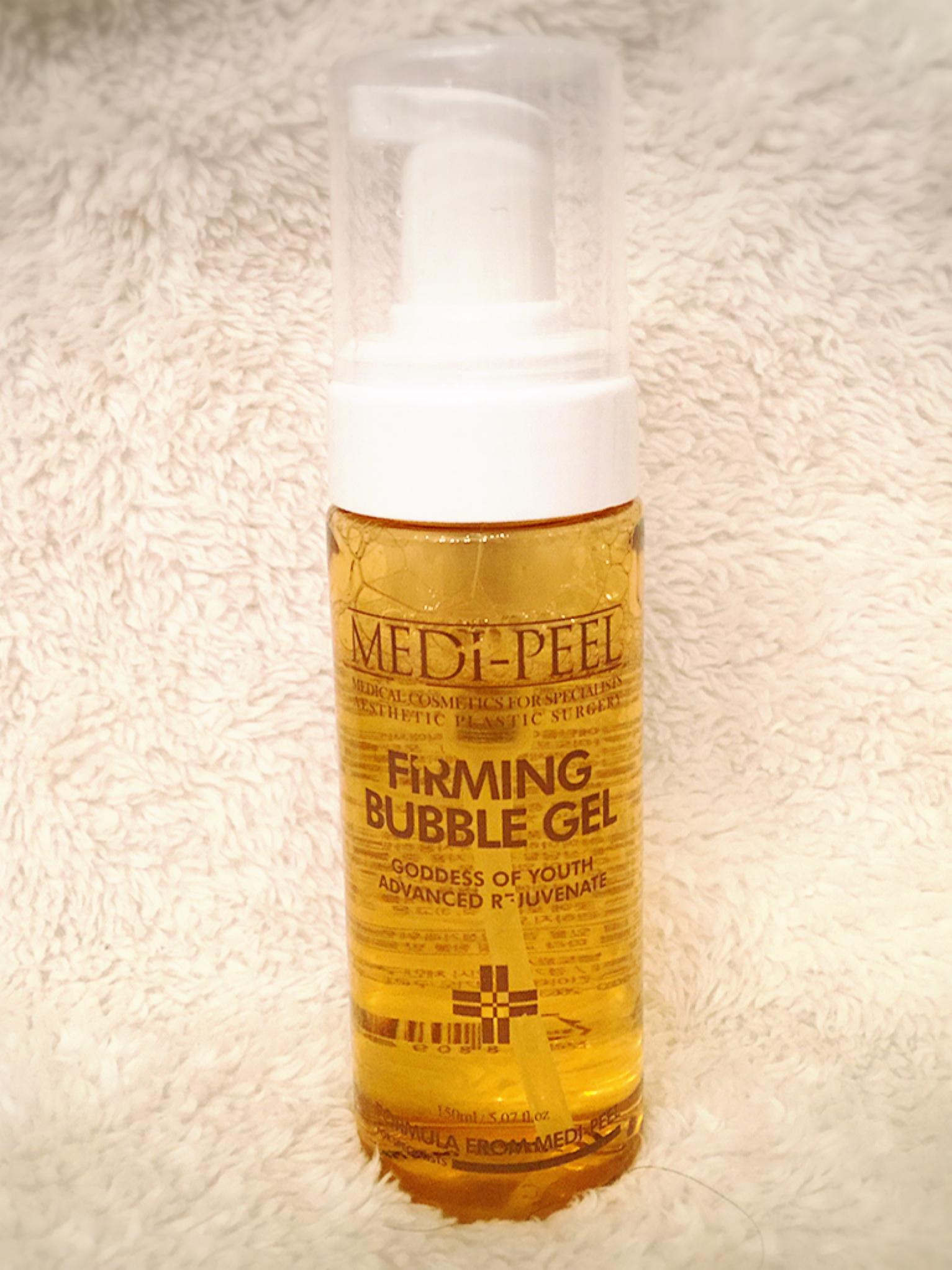 肌再生エステ専門化粧品 [メディピール] ファーミング バブル ジェル